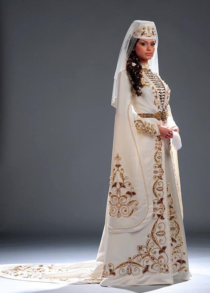 Фото осетинского платье