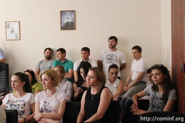 В офисе компании «Мегафон-Южная Осетия» рассказали, как наладили связь во время войны 08.08.08