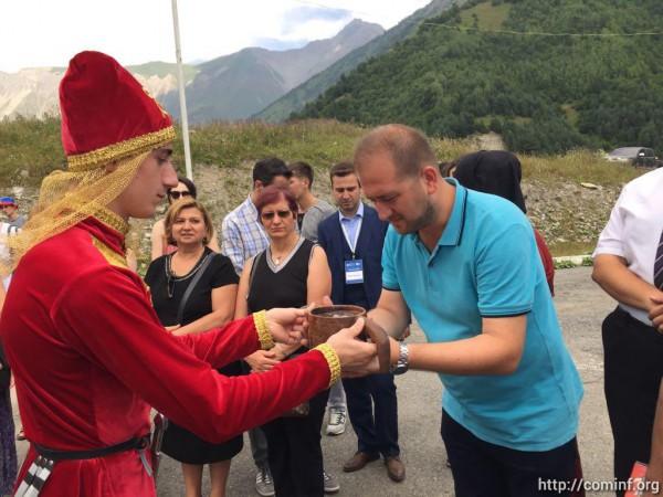 Участники этнолагеря «Аланский след» прибыли в Южную Осетию