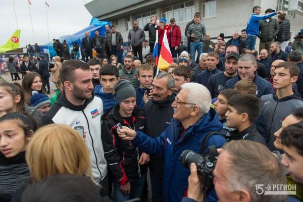 «Мурат Гассиев вернулся домой в Осетию»