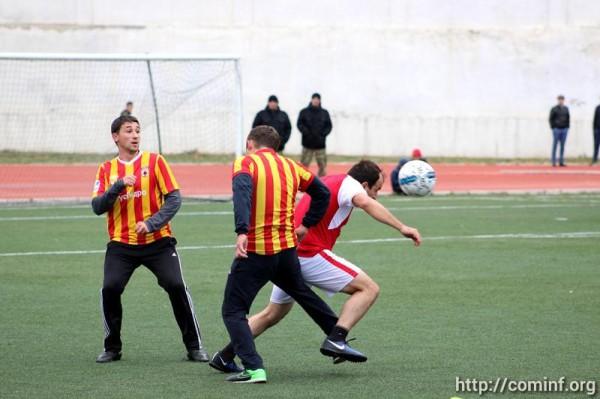 Команда югоосетинских чекистов стала обладателем Кубка президента