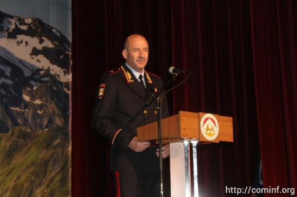Югоосетинскую милицию поздравили со 100-летием