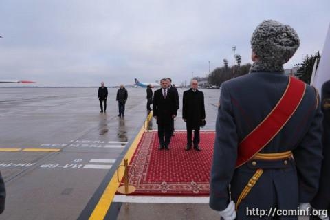 Анатолий Бибилов встретится с президентом Науру и председателем Следственного комитета РФ