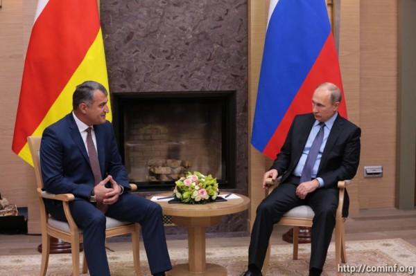 Владимир Путин: ситуация в Южной Осетии заметно улучшилась