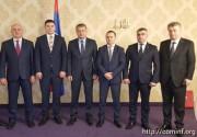 Президент Южной Осетии провел встречу с главой муниципалитета Восточного Сараева