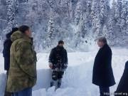 Эрик Пухаев проинспектировал ход берегоукрепительных работ в городе Квайса
