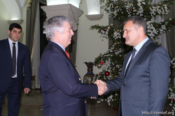 Анатолий Бибилов провел встречу с кронпринцем Сербии