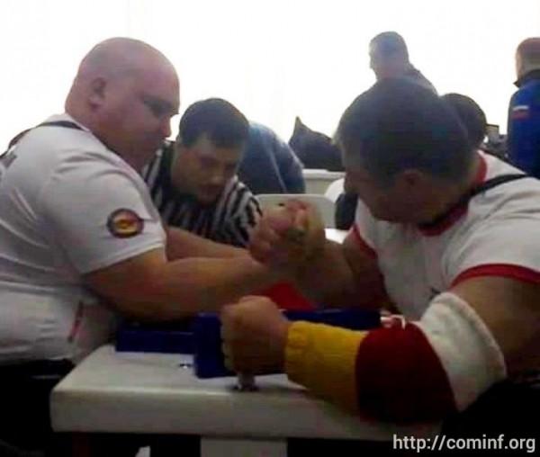 Армрестлер Малхаз Догузов из Южной Осетии стал двукратным чемпионом России