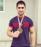 Армрестлер из Южной Осетии Сослан Гассиев завоевал бронзу на чемпионате России