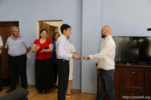 Давид Газзати поощрил стипендиями лучших студентов ЮОГУ