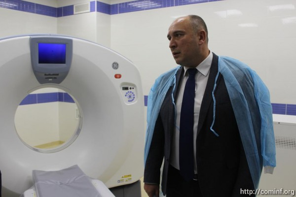 В Южной Осетии открыли современный операционно-хирургический комплекс