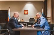 Встреча с Министром Российской Федерации по делам Северного Кавказа Сергеем Чеботаревым