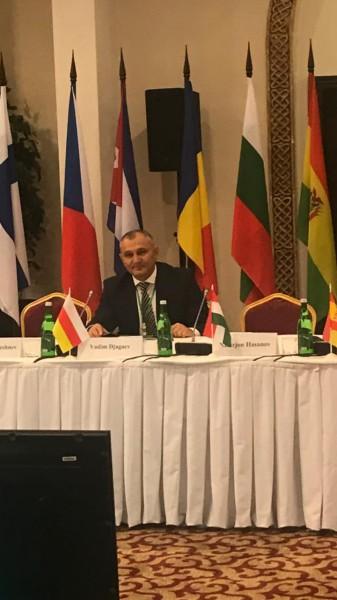 Представитель Государства Алания принимает участие в  9-й Международнаой научно-практической конференции органов принудительного исполнения