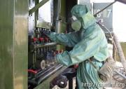 Как выжить при применении ОМП: в Осетии прошли учения по защите от химических атак