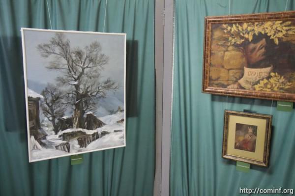 Бибилов о выставке Касоева: впечатляют образы, навеянные самой жизнью