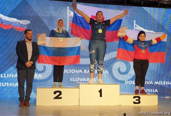 Первые медали завоевали армрестлеры Южной Осетии на первенстве Европы