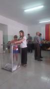 К 12.00 на выборах депутатов парламента Южной Осетии проголосовало 22, 55% избирателей