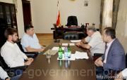 Представители Минкавказа посетили в Южной Осетии строящиеся объекты Инвестпрограммы
