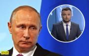 Вслед за грузином: украинский ведущий публично обматерил Путина