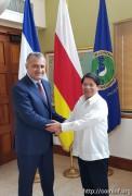Анатолий Бибилов прибыл с рабочим визитом в Республику Никарагуа