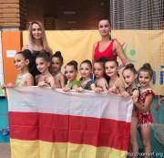 Очередная победа: десять медалей завоевали гимнастки из Южной Осетии на чемпионате в Сочи