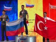Арсен Хабалов из Южной Осетии стал чемпионом мира по армрестлингу