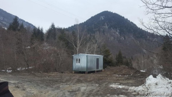 Погорельцам из села Борджнис Южной Осетии подарили жилой вагон