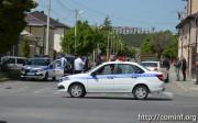В столице Южной Осетии произошло ДТП, пострадал пожилой человек