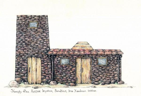 Осетинский дом Юрия Бетеева: как в Борджнис воссоздают быт предков