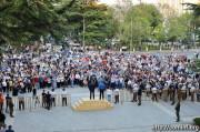 Смерть Инала Джабиева – наша общая боль: участники митинга в Цхинвале призвали общество к сплочению
