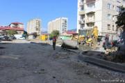 Очередной этап реконструкции улиц начался в столице Южной Осетии