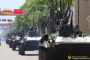 Репетиции парада к 30-летию Республики пройдут на главной площади Цхинвала